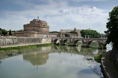 Sant Angelo Castle στη Ρώμη Στοκ Εικόνα