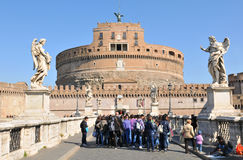 Sant Angelo castle royalty free stock photo