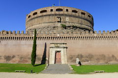 Sant'Angelo castle fortified walls Royalty Free Stock Photography
