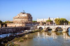 Sant Angelo castle  Stock Photography