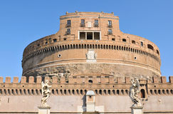 Sant Angelo Castle, Rome Royalty Free Stock Photography