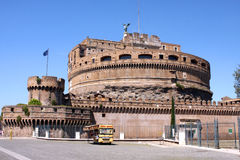 Sant Angelo Castle Rome Italy Royalty Free Stock Photo