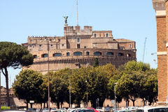 Sant Angelo Castle Rome Italy Royalty Free Stock Photography