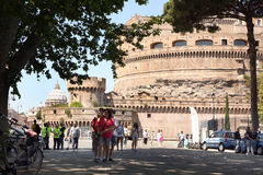 Sant Angelo Castle Rome Italy Stock Photos