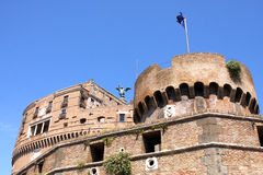 Sant Angelo Castle Rome Italy Stock Image