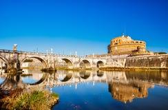 Sant'Angelo-Festung, Rom lizenzfreie stockfotografie