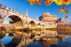 Sant'Angelo Festung, Rom lizenzfreies stockbild