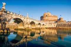 Sant'Angelo Festung, Rom lizenzfreies stockfoto