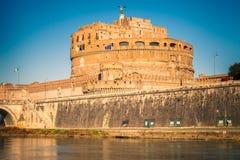 Sant'Angelo Festung, Rom lizenzfreie stockbilder