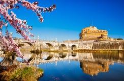 Sant-` Angelo-Festung, Rom stockfotografie