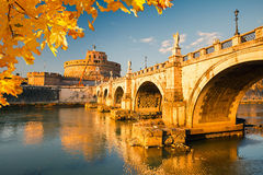 Sant'Angelo fortress, Rome Royalty Free Stock Photography