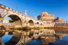 Sant'Angelo fortress, Rome Stock Photography