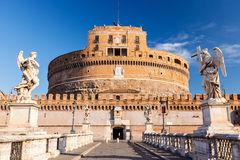 Sant'Angelo fortress, Rome Royalty Free Stock Images