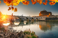 Sant'Angelo fortress, Rome Royalty Free Stock Photos