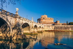 Sant'Angelo fortress, Rome Stock Image