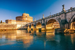 Sant'Angelo fortress, Rome Stock Photos