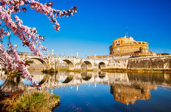 Sant`Angelo fortress, Rome Stock Photography