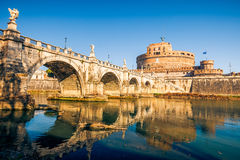 Sant'Angelo fortress, Rome Royalty Free Stock Photo
