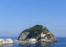 Sant'Angelo, ischi, Italia Immagini Stock