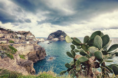 Sant Angelo in Ischia island in Italy Stock Photography