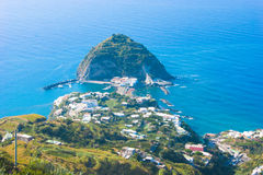 Sant'Angelo, Ischia, Italy. Picture of view to Sant'Angelo village, Ischia, Italy Royalty Free Stock Photography