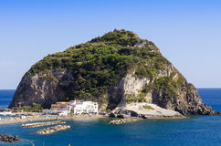Sant Angelo on island Ischia,Italy Stock Image