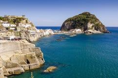 Sant Angelo na wysp Ischia, Włochy Zdjęcia Royalty Free