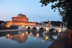 Sant Angelo a Roma, Italia Immagini Stock Libere da Diritti