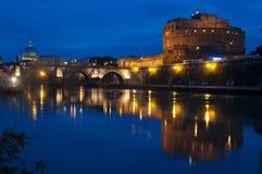 Sant Angelo Schloss lizenzfreies stockbild