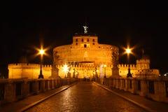 sant angelo slott fotografering för bildbyråer
