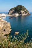 Sant Angelo wioski ischia Italy Zdjęcie Stock