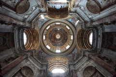 The Sant'Angese in Agone Church in Piazza Navona Royalty Free Stock Photo