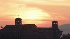 Sant Anselmo en Roma almacen de metraje de vídeo