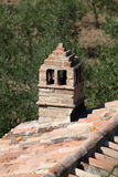 Sant Antimo Abbey cerca de Montalcino en Toscana, Imagen de archivo libre de regalías