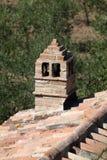 Sant Antimo Abbey nära Montalcino i Tuscany, Royaltyfri Bild