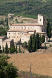 Sant Antimo Abbey near Montalcino in Tuscany, Royalty Free Stock Photography