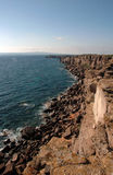 Sant'Antioco Cliff Royalty Free Stock Photography
