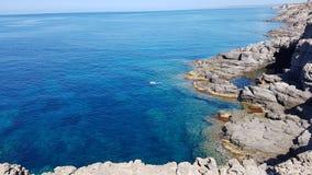 Sant'Antioco sea, Sardinia stock image