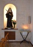 Sant'Antonio教会的内部在阿尔贝罗贝洛 图库摄影