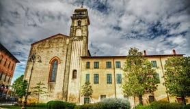 Sant'Antonio abate steeple in Pisa Royalty Free Stock Photography