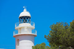 Sant Antonio Cape Lighthouse in Javea Denia Spain Stock Images