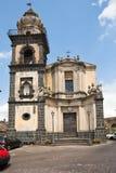 Sant' Antonio church in Castiglione di Sicilia Stock Image