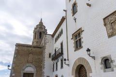 Sant Bartomeu和圣特克拉教会  图库摄影