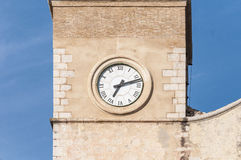 Sant Bartomeu我锡切斯的,西班牙圣特克拉教会 库存图片
