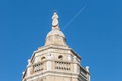 Sant Bartomeu i Santa Tecla church at Sitges, Spain Stock Image