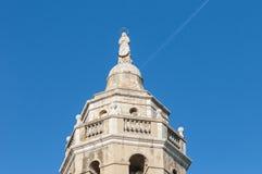 Sant Bartomeu i Santa Tecla church at Sitges, Spain Stock Photos