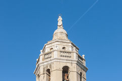 Sant Bartomeu i Santa Tecla in Sitges, Spain Royalty Free Stock Photos