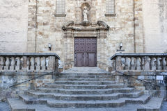Sant Boi Llobregat,Catalonia,Spain. Architecture, religious building, Church, Iglesia de Sant Baldiri, baroque style, Sant Boi de Llobregat, province Barcelona stock image