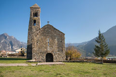 Sant Climent church Stock Photography