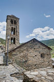Sant Climent church at Pal, Andorra Stock Photo